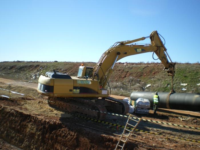 Reparación De Desagües Transversales Del Canal De Las Dehesas